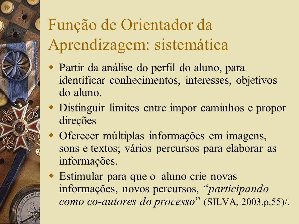 Função de Orientador da Aprendizagem: sistemática