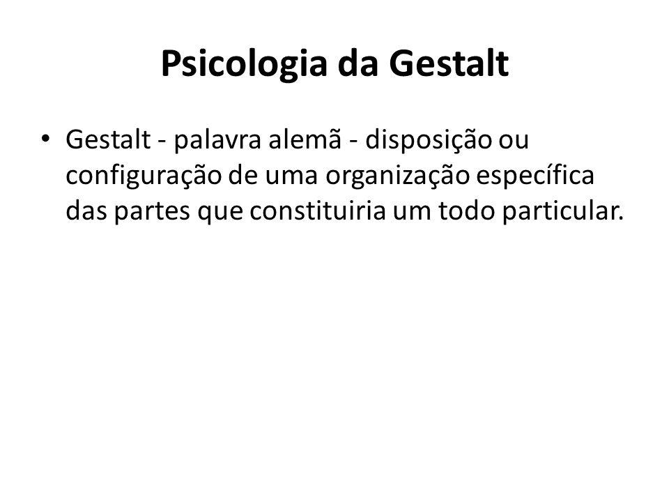 Psicologia da Gestalt