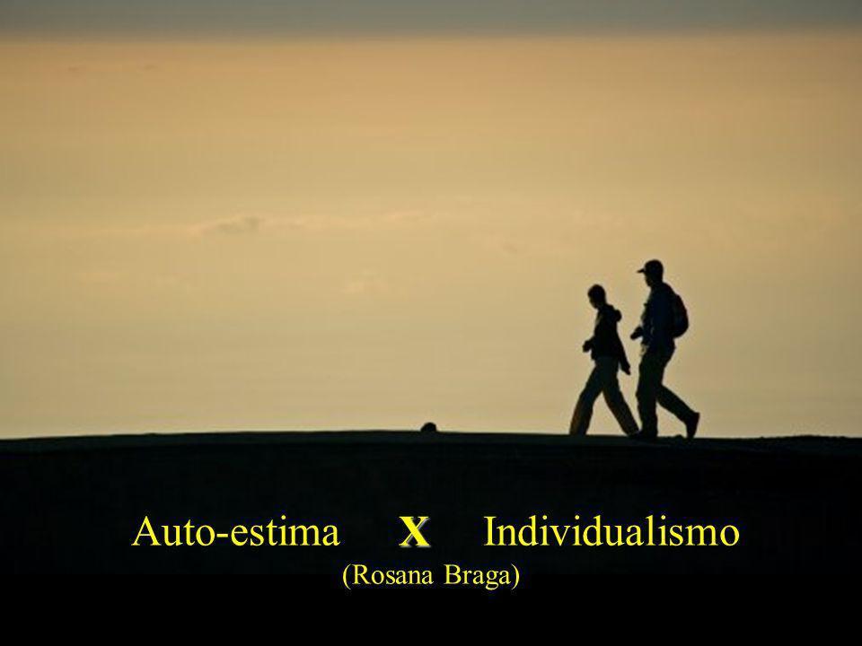 Auto-estima X Individualismo