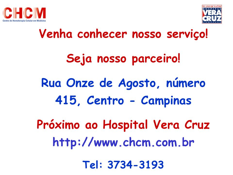 Venha conhecer nosso serviço! Seja nosso parceiro!