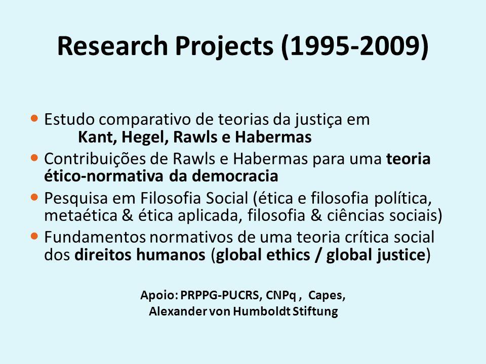 Apoio: PRPPG-PUCRS, CNPq , Capes, Alexander von Humboldt Stiftung