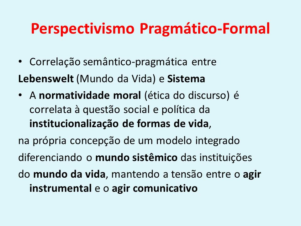 Perspectivismo Pragmático-Formal