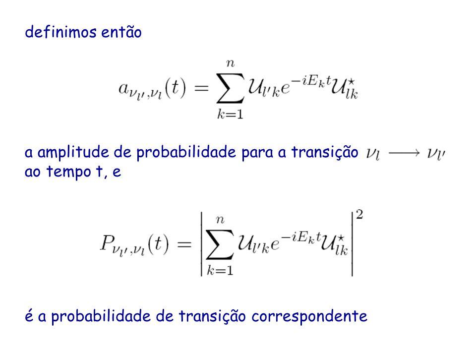 definimos então a amplitude de probabilidade para a transição.