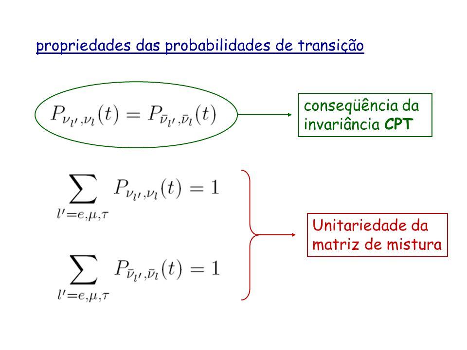 propriedades das probabilidades de transição