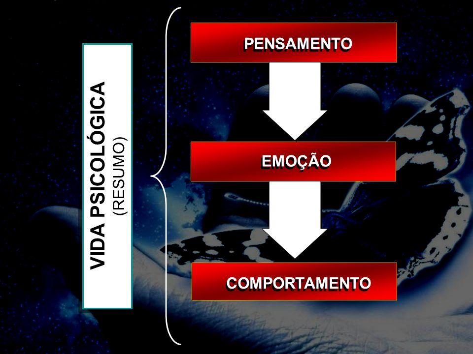 PENSAMENTO VIDA PSICOLÓGICA (RESUMO) EMOÇÃO COMPORTAMENTO 20