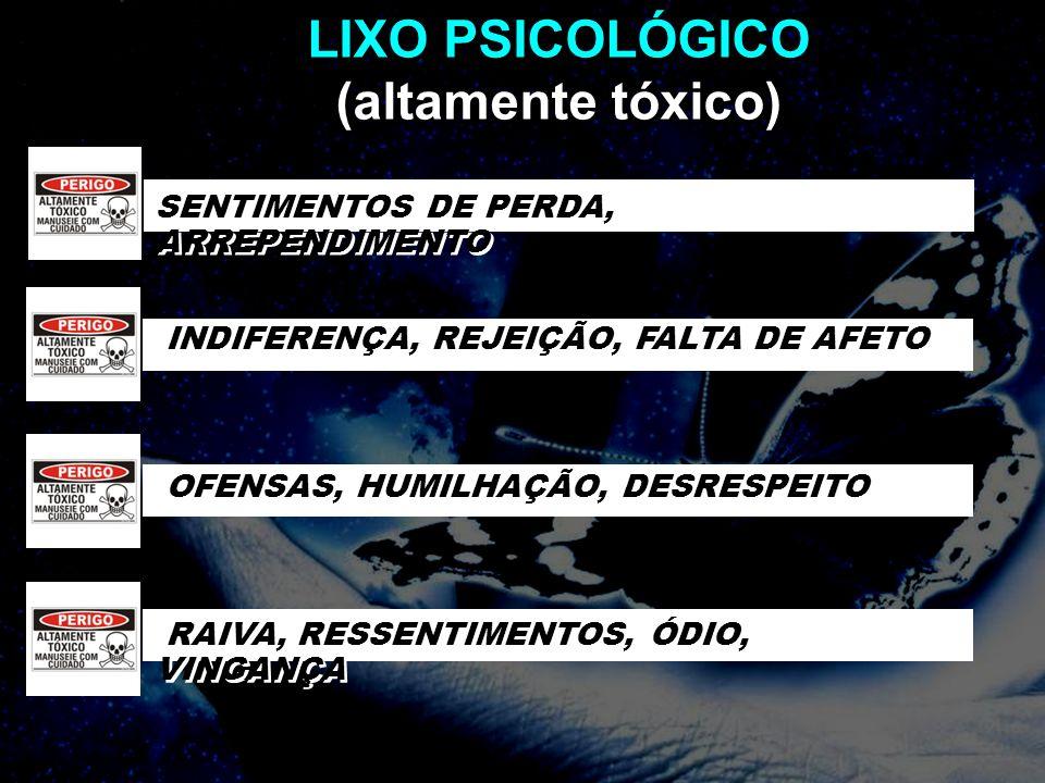 LIXO PSICOLÓGICO (altamente tóxico)