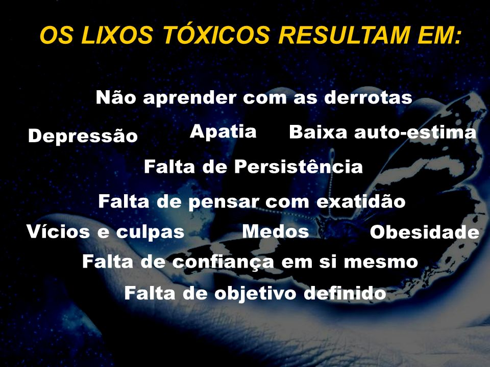 OS LIXOS TÓXICOS RESULTAM EM: