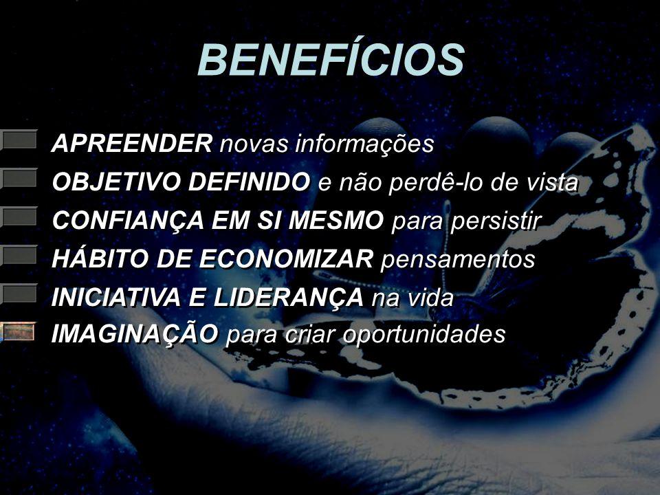 BENEFÍCIOS APREENDER novas informações