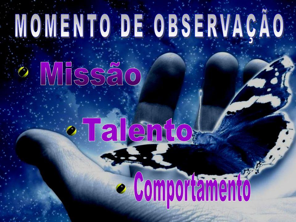 MOMENTO DE OBSERVAÇÃO Missão Talento Comportamento 6