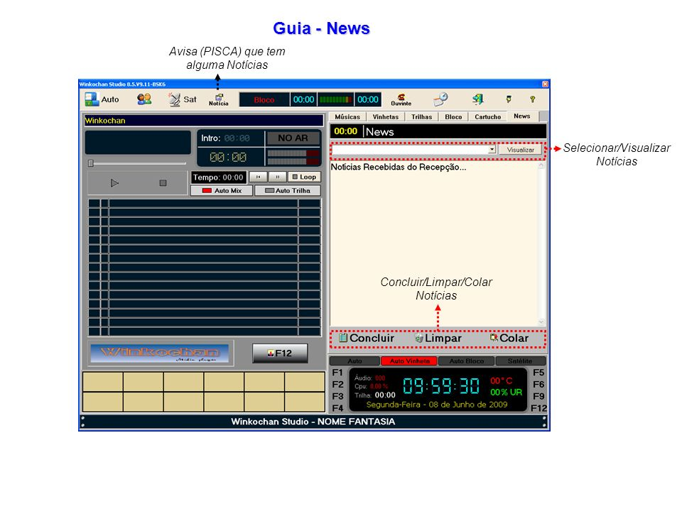 Guia - News Avisa (PISCA) que tem alguma Notícias