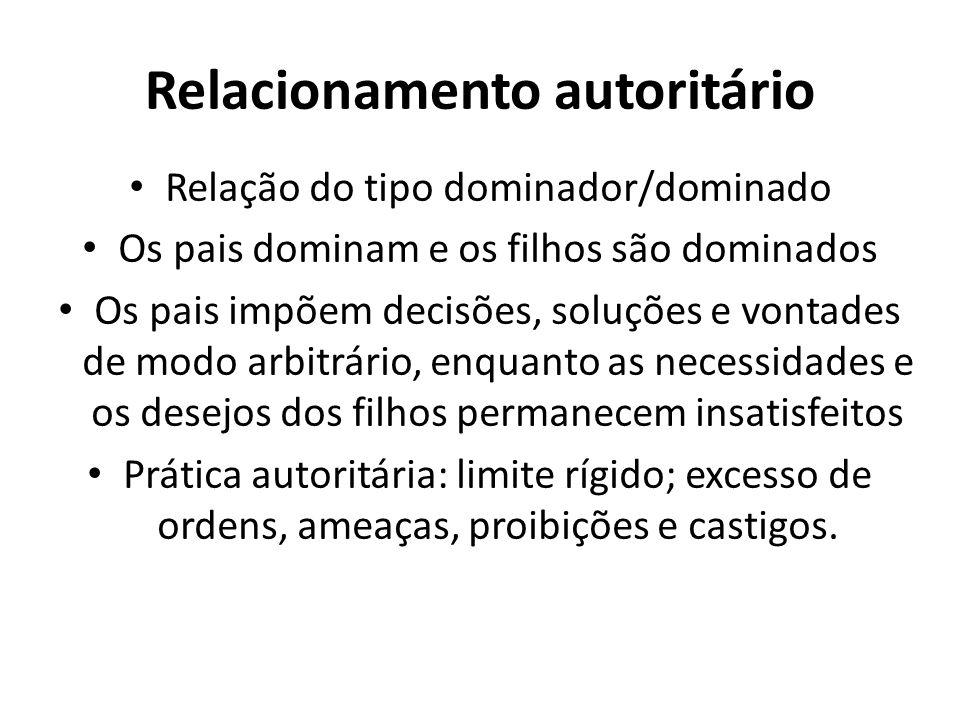 Relacionamento autoritário