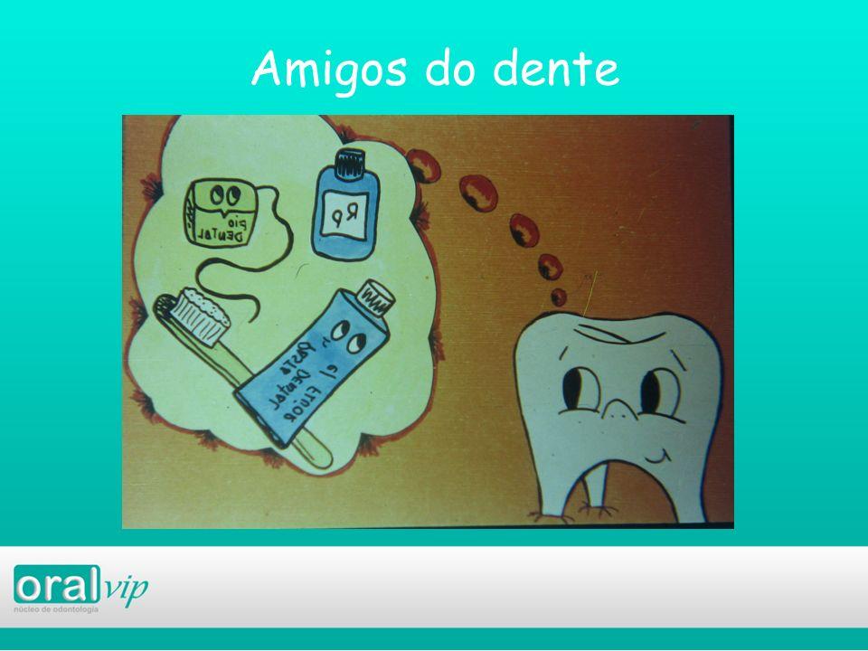 Amigos do dente slide fala por si