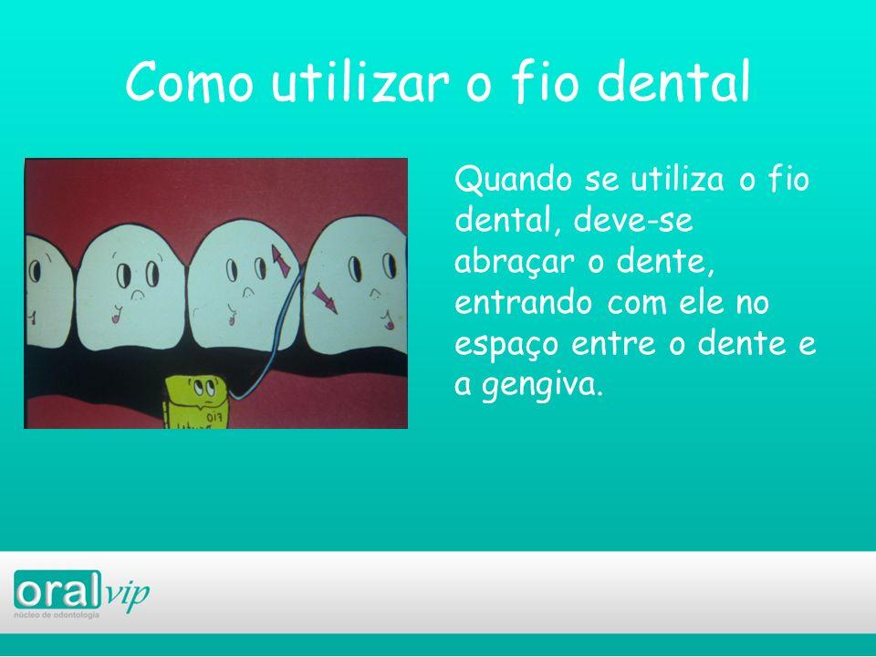 Como utilizar o fio dental