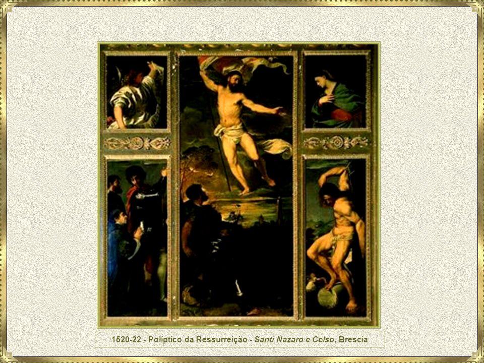 1520-22 - Políptico da Ressurreição - Santi Nazaro e Celso, Brescia