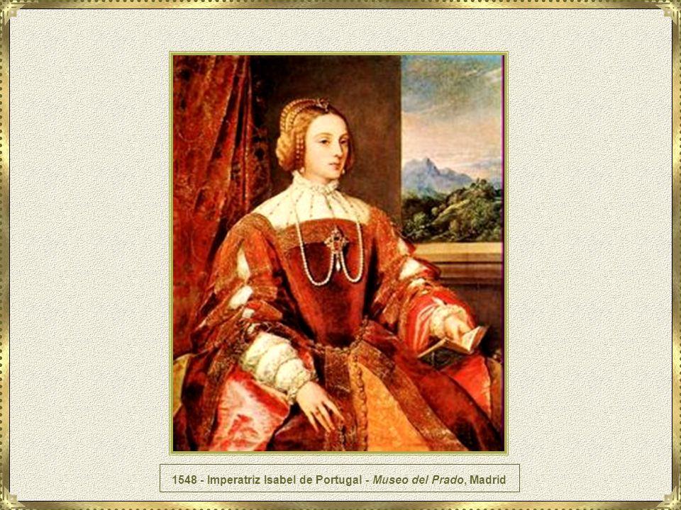1548 - Imperatriz Isabel de Portugal - Museo del Prado, Madrid
