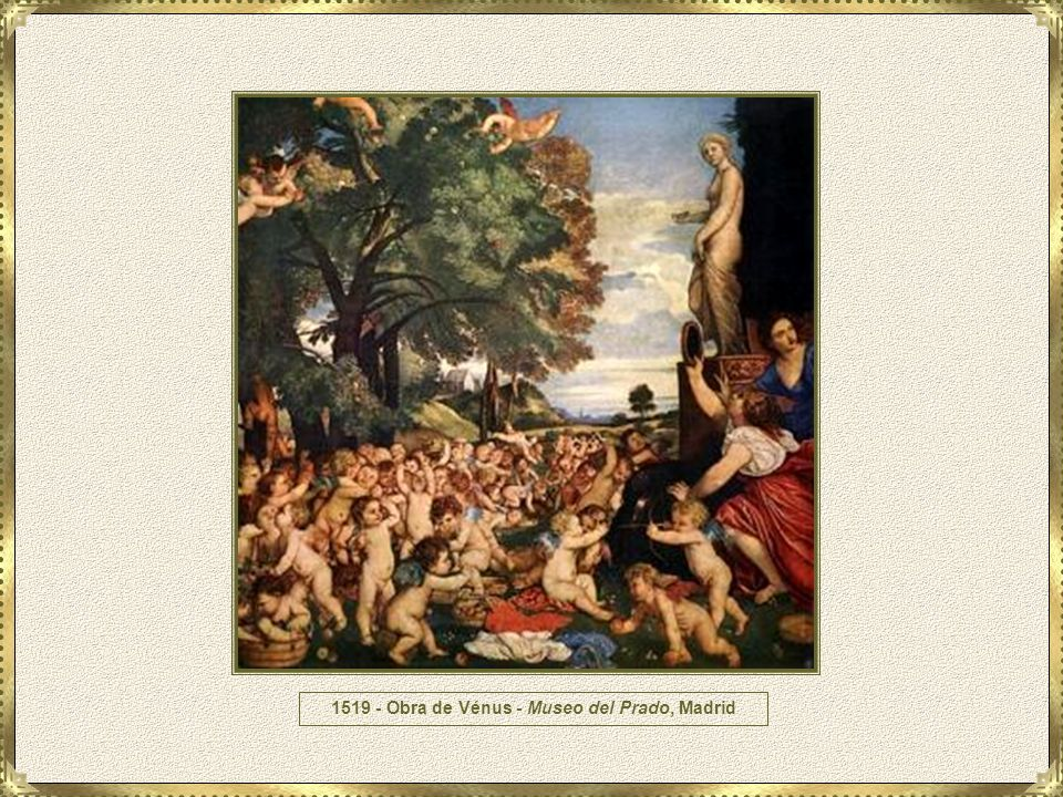 1519 - Obra de Vénus - Museo del Prado, Madrid