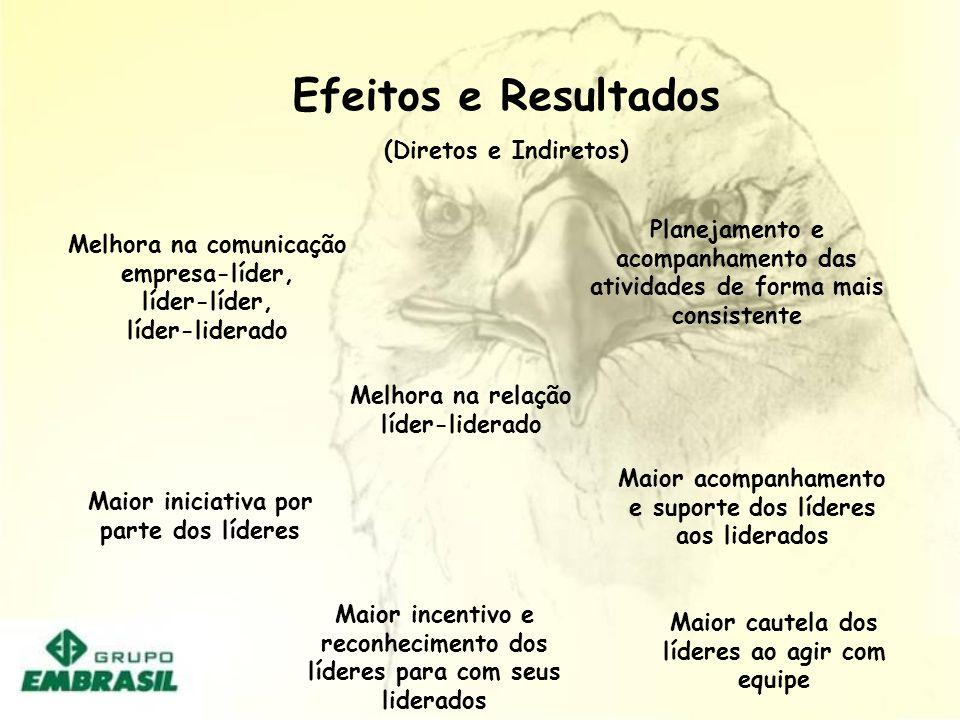 Efeitos e Resultados (Diretos e Indiretos)
