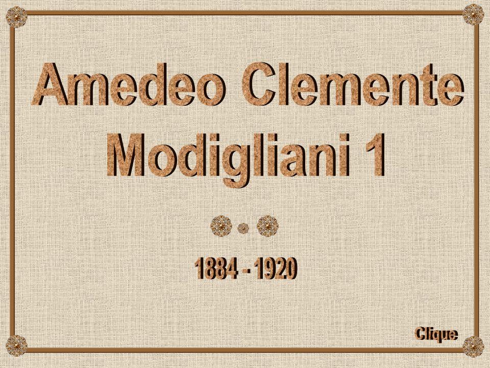 Amedeo Clemente Modigliani 1