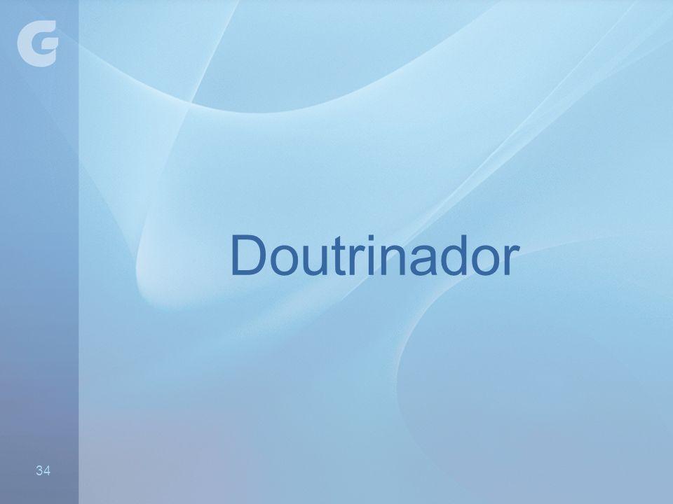 Doutrinador - Preparado - Experiente com grupos novos 34