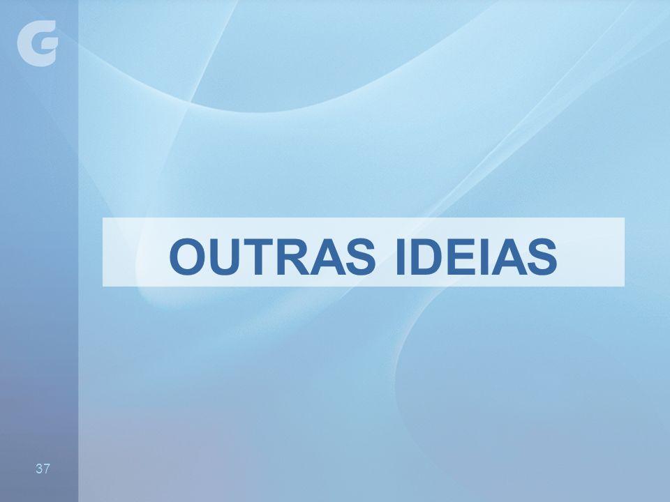 OUTRAS IDEIAS - São específicos, mas acompanham a identidade visual da Unidade 37