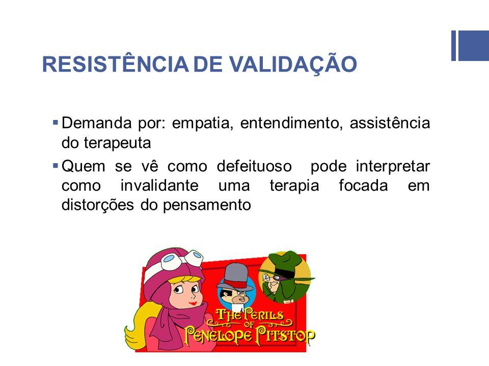 RESISTÊNCIA DE VALIDAÇÃO