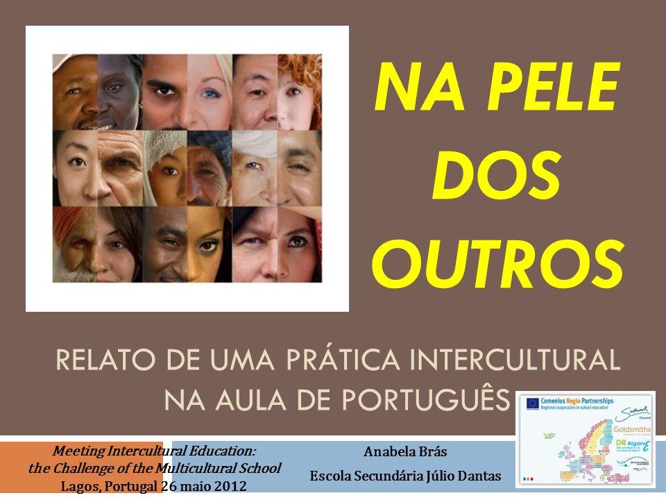 Relato de uma Prática intercultural na aula de português