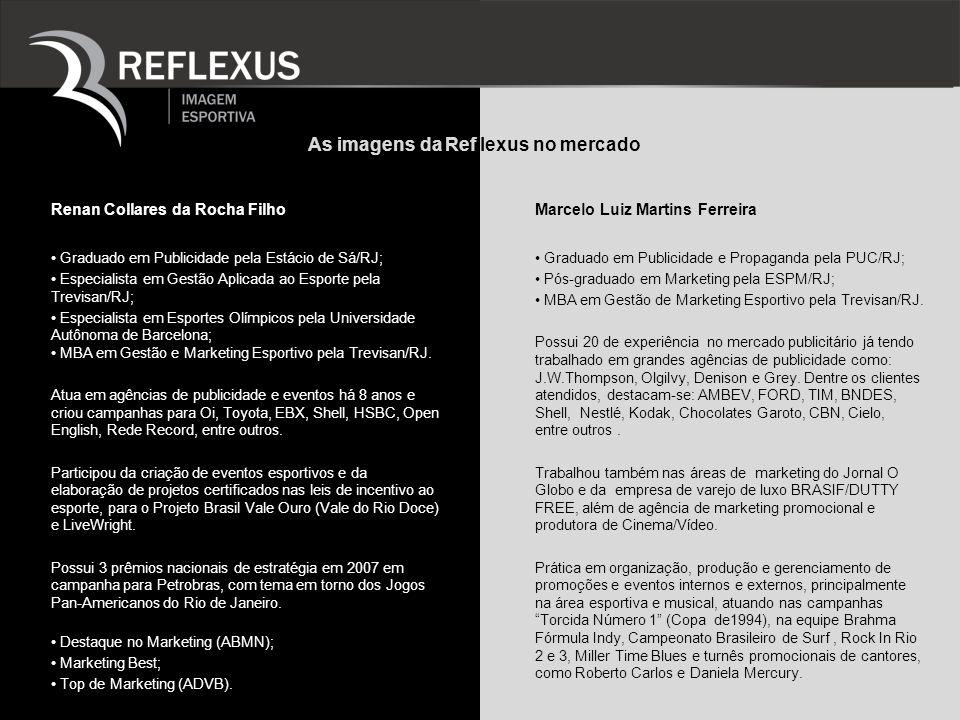 As imagens da Ref lexus no mercado