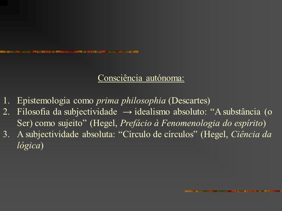 Consciência autónoma:
