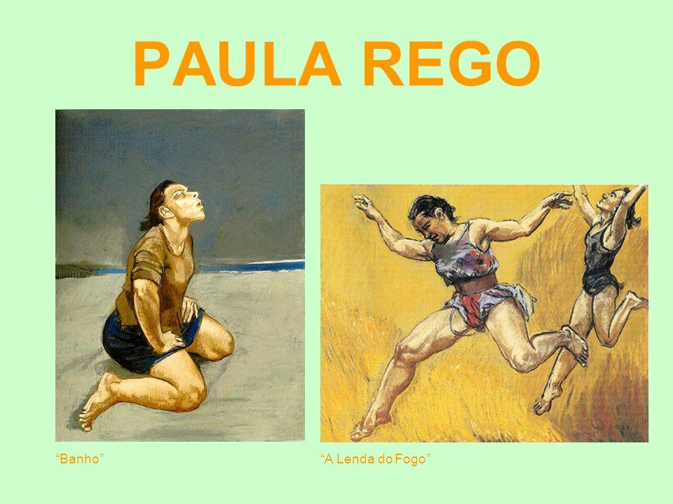 PAULA REGO Banho A Lenda do Fogo