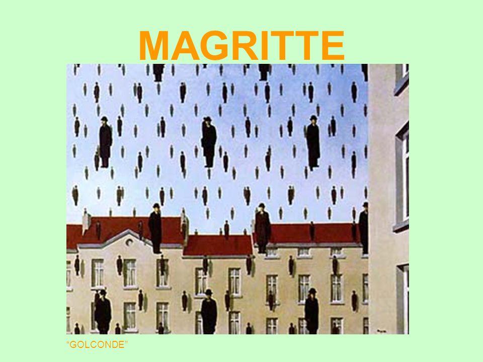 MAGRITTE René François Ghislain Magritte (1898 - 1967) foi um dos principais surrealistas belgas, ao lado de Paul Delvaux.