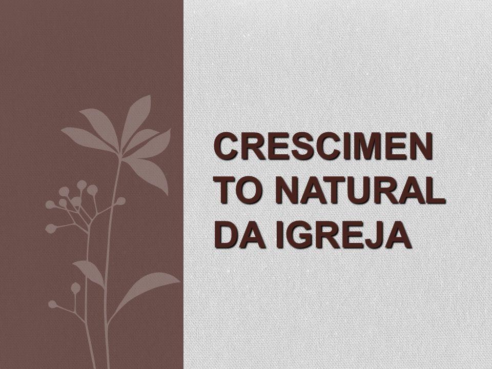 Crescimento Natural da igreja