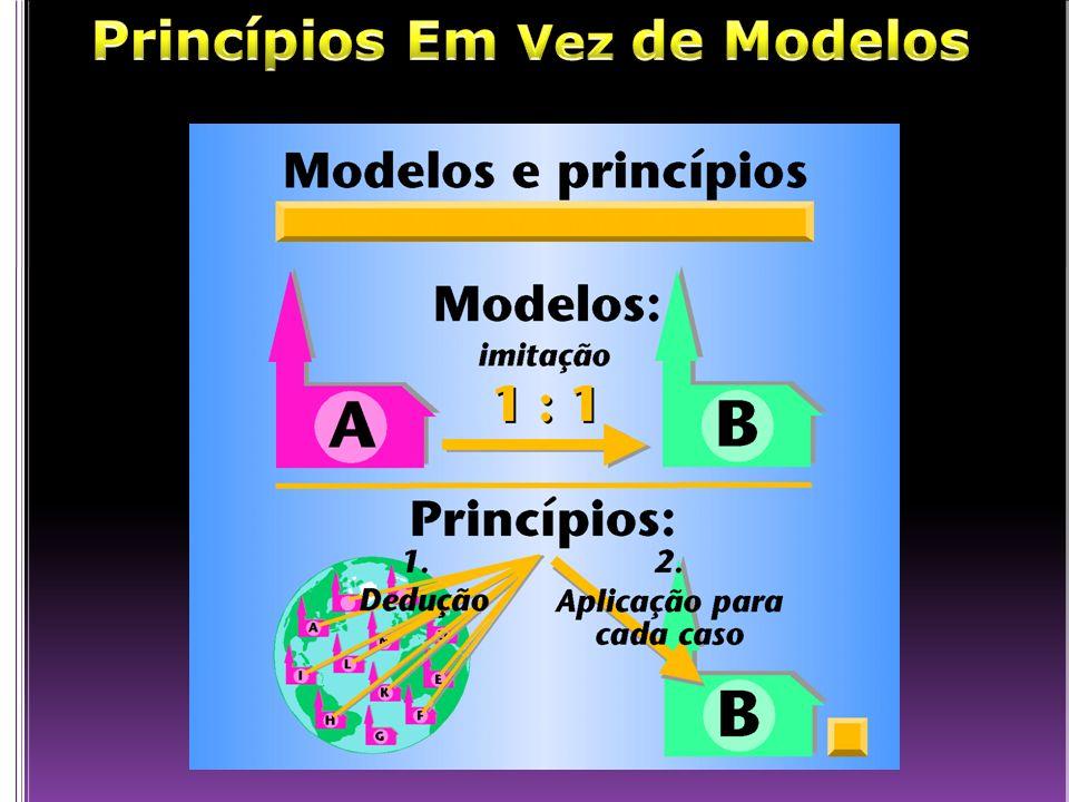 Princípios Em Vez de Modelos