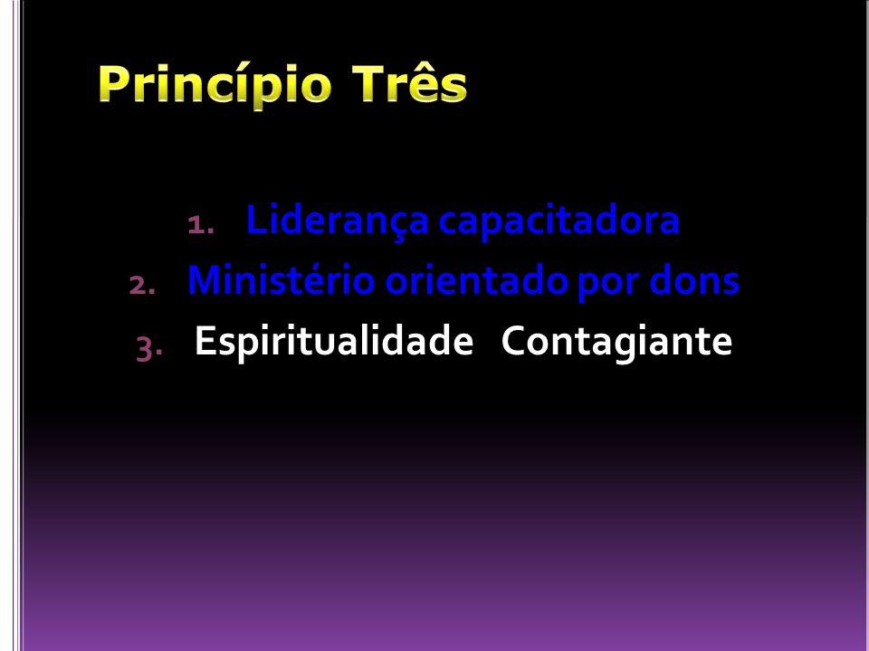 Princípio Três Liderança capacitadora Ministério orientado por dons