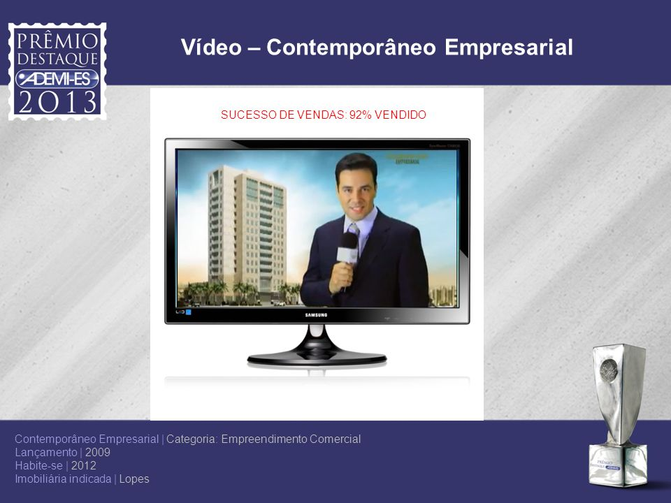 Vídeo – Contemporâneo Empresarial