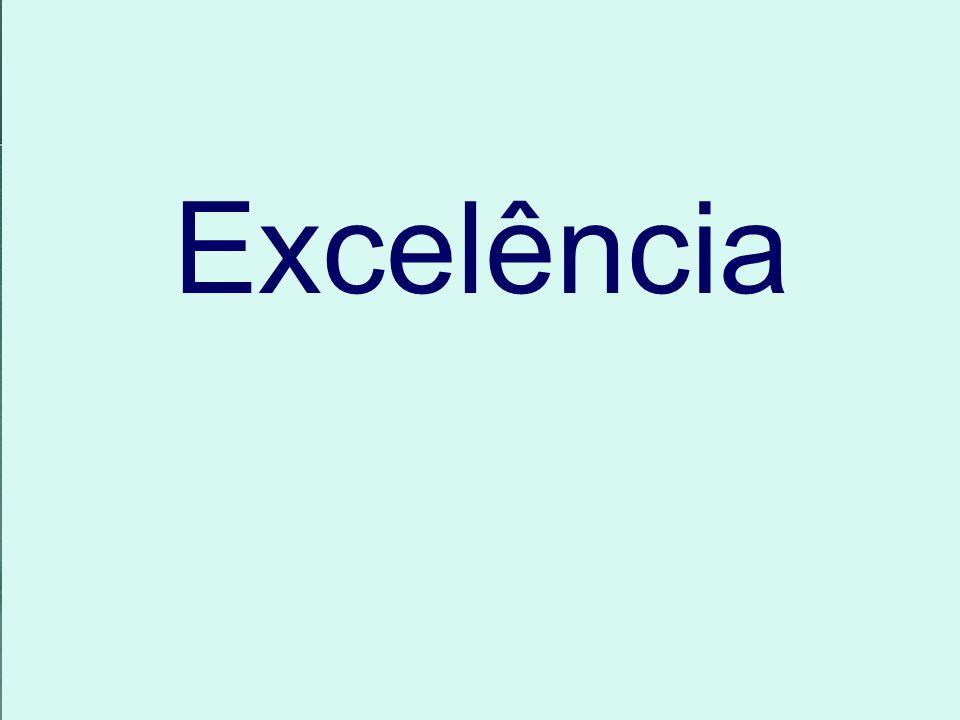Excelência Motivação Qualidade de vida Qualidade de produtos Serviços