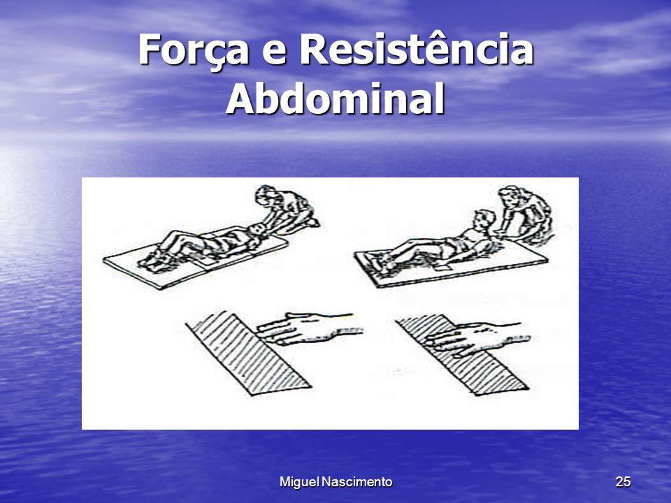 Força e Resistência Abdominal