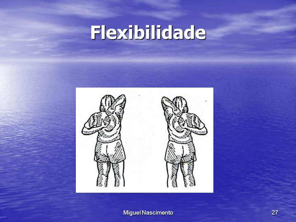 Flexibilidade Miguel Nascimento
