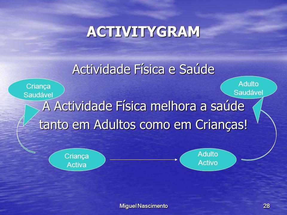 ACTIVITYGRAM Actividade Física e Saúde