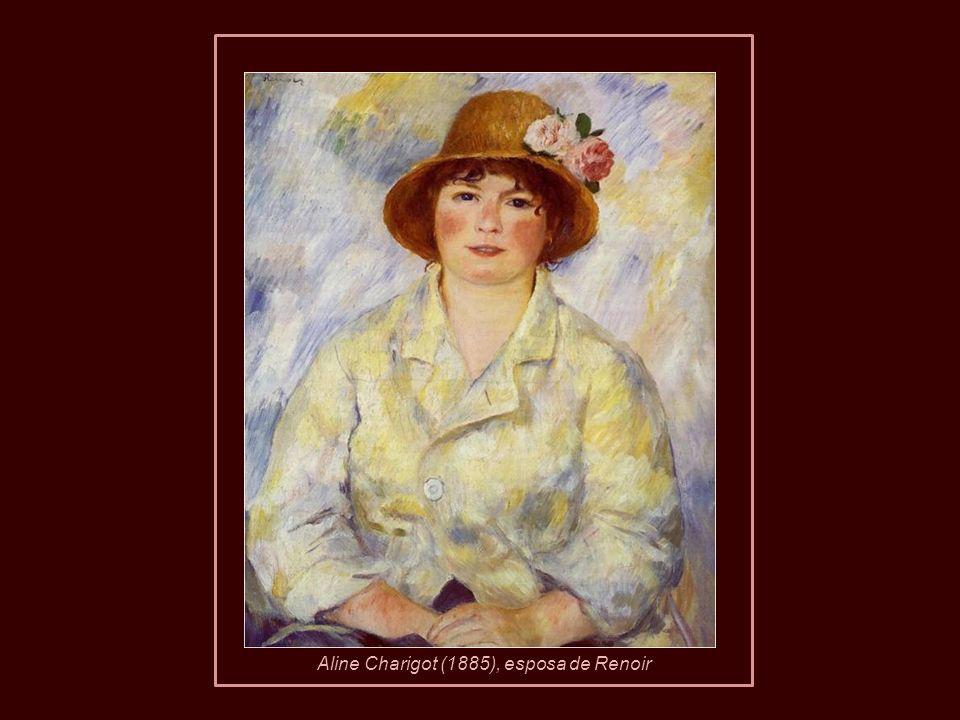 Aline Charigot (1885), esposa de Renoir