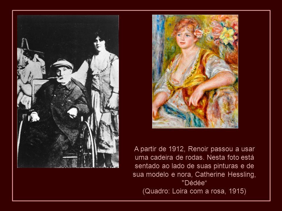 (Quadro: Loira com a rosa, 1915)