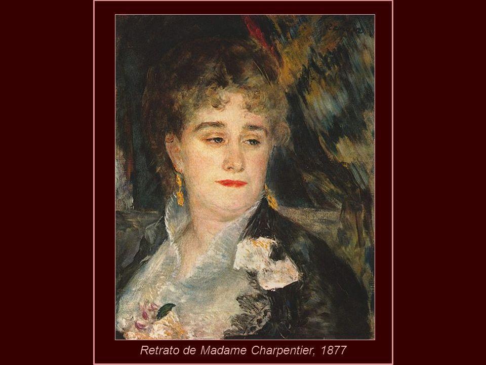 Retrato de Madame Charpentier, 1877