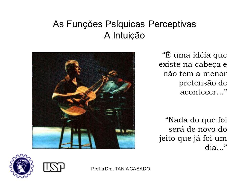 As Funções Psíquicas Perceptivas A Intuição