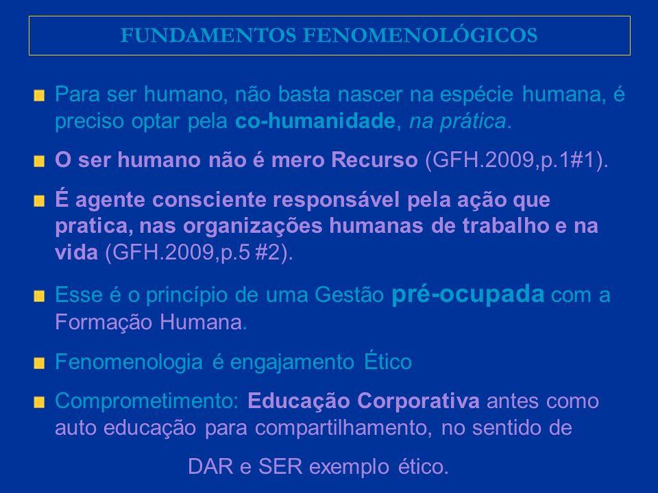 FUNDAMENTOS FENOMENOLÓGICOS