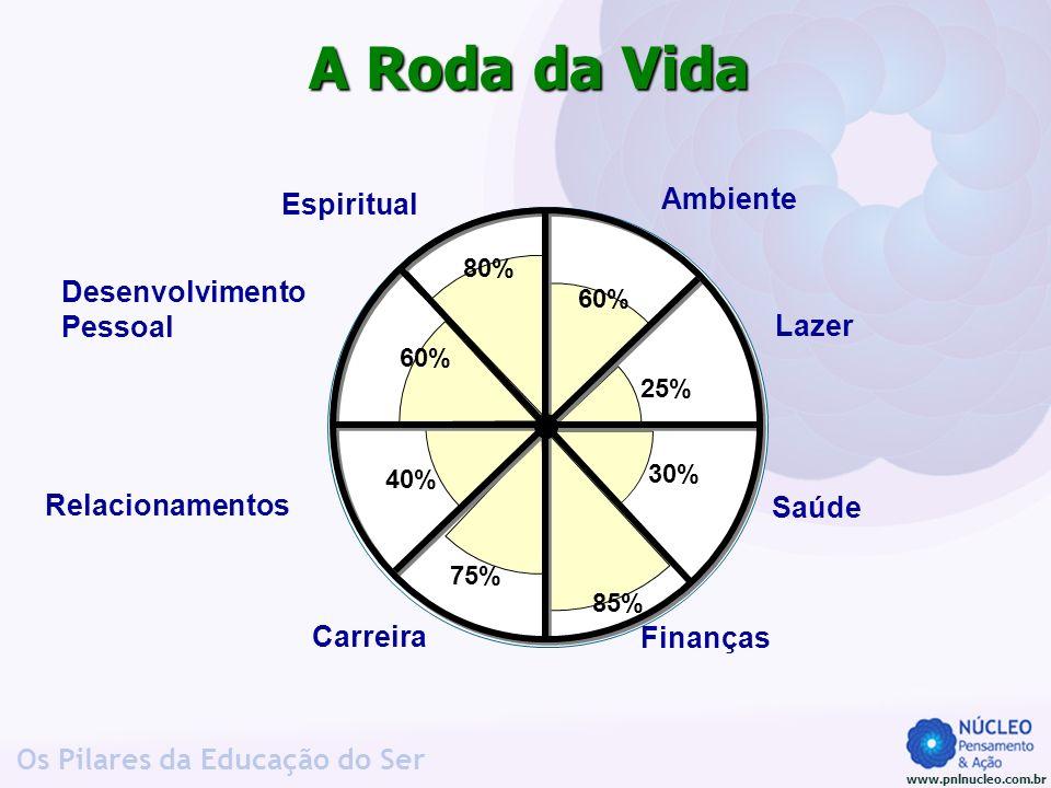 A Roda da Vida Ambiente Espiritual Desenvolvimento Pessoal Lazer