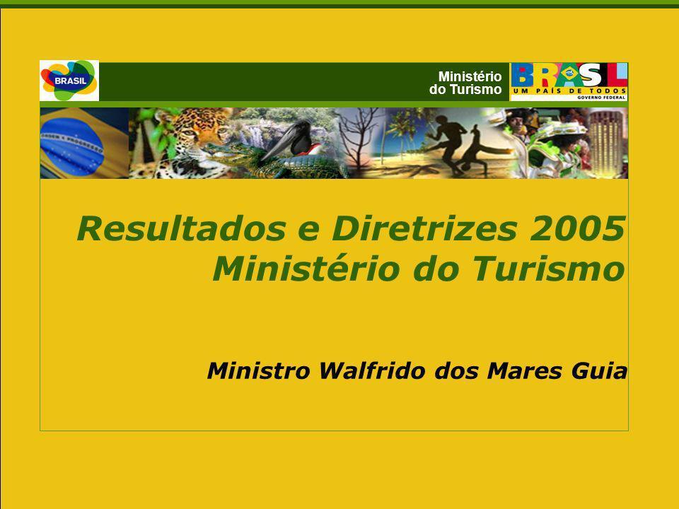 Resultados e Diretrizes 2005 Ministério do Turismo