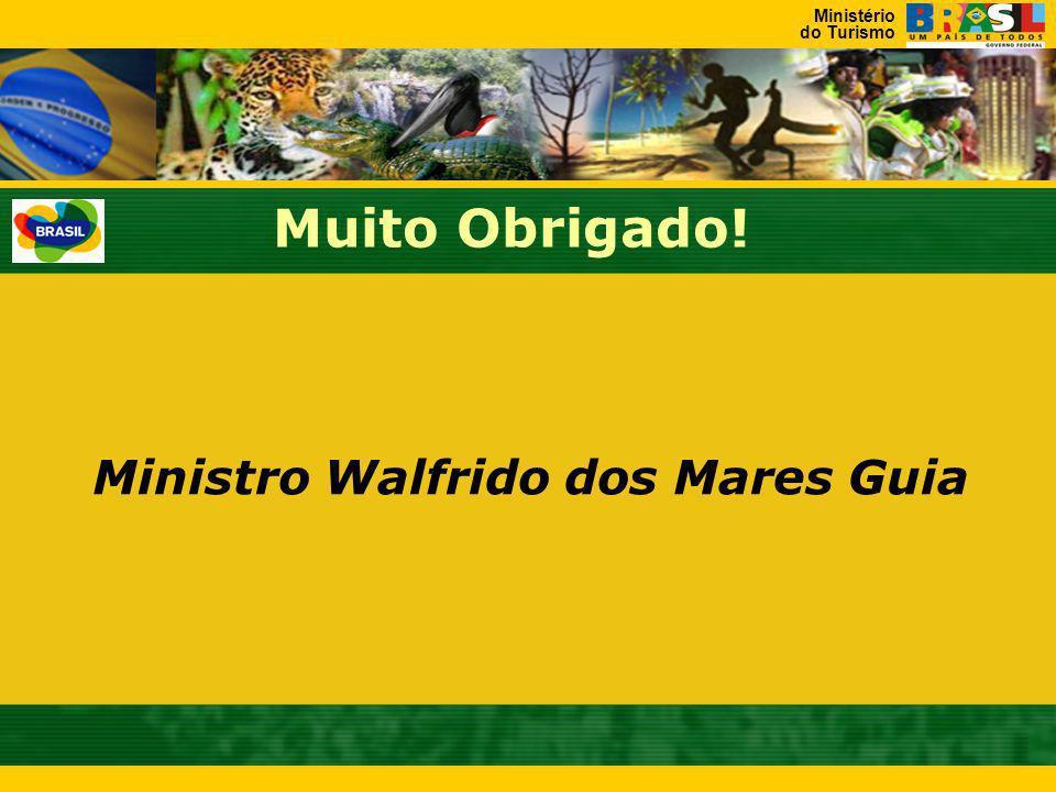 Muito Obrigado! Ministro Walfrido dos Mares Guia