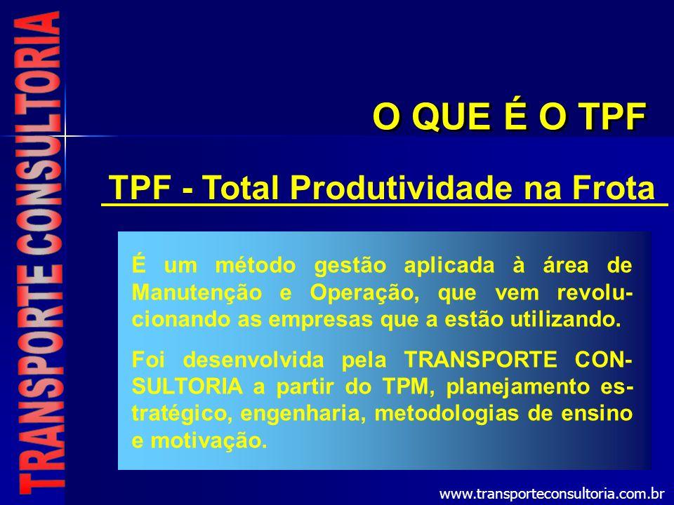TPF - Total Produtividade na Frota