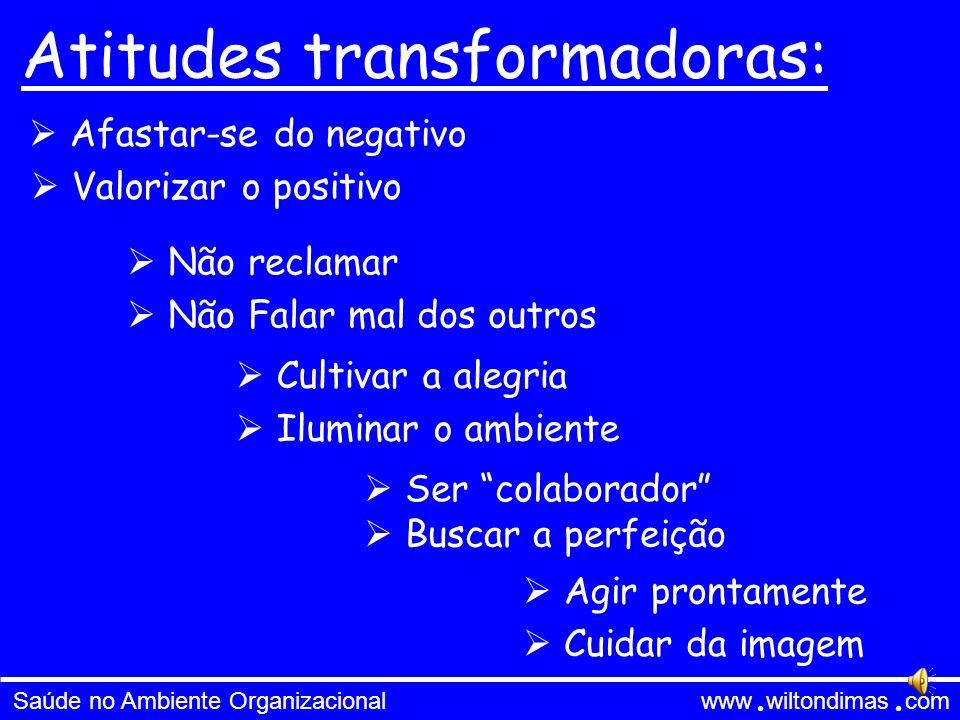 Atitudes transformadoras: