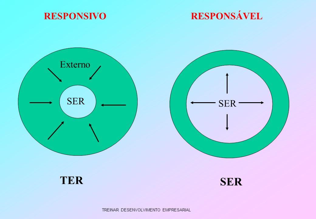 TER SER RESPONSIVO RESPONSÁVEL Externo SER SER