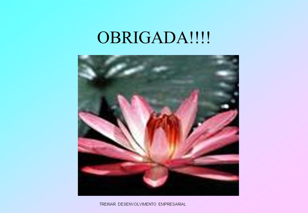 OBRIGADA!!!! TREINAR DESENVOLVIMENTO EMPRESARIAL